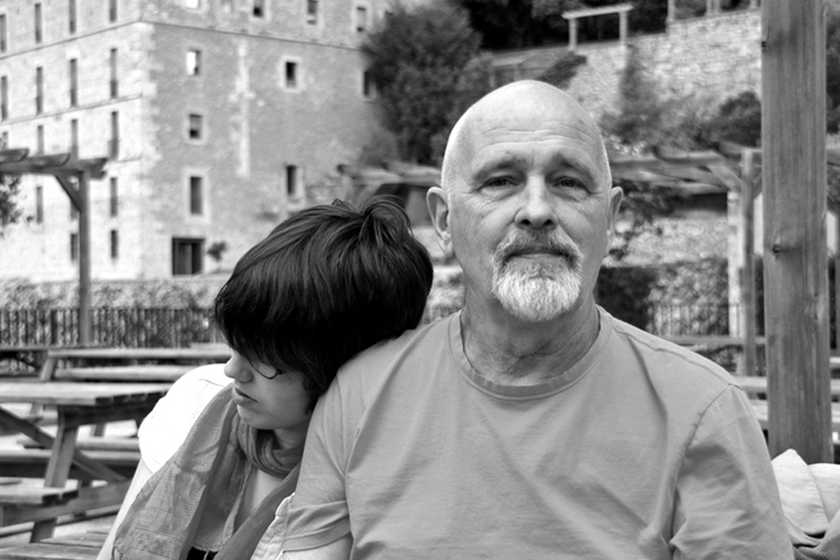 Rachel and Robert McCullough. June 2009, Montserrat, Spain.